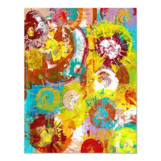 Big Bang 11 Cm X 14 Cm Invitation Card