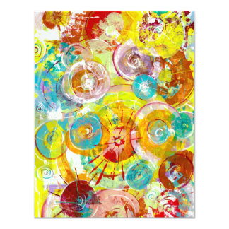 Big Bang 2 11 Cm X 14 Cm Invitation Card