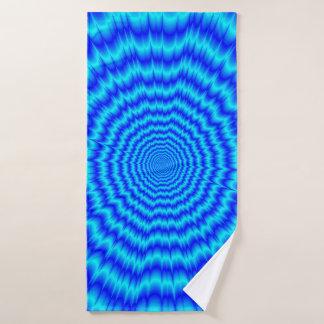 Big Bang Blues Bath Towel