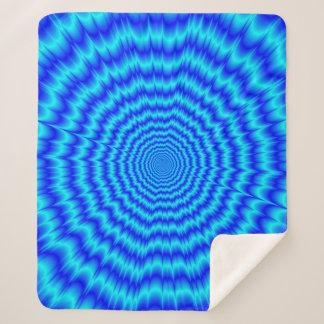 Big Bang Blues Sherpa Blanket