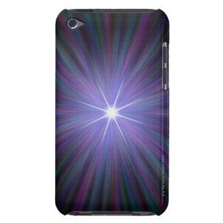Big Bang, conceptual computer artwork. 2 iPod Case-Mate Cases
