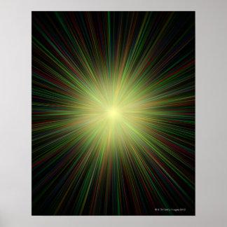 Big Bang conceptual computer artwork Poster