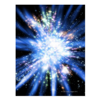 Big Bang from Outer Space Postcard