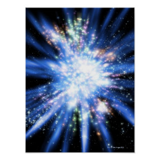 Big Bang from Outer Space Poster