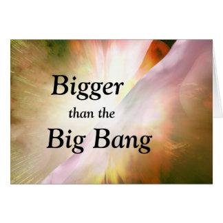 Big Bang graduation card