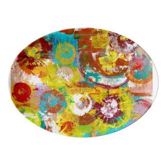 Big Bang Porcelain Serving Platter