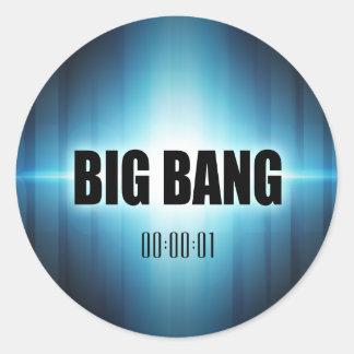 Big Bang Round Sticker