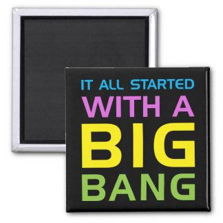 Big Bang Square Magnet
