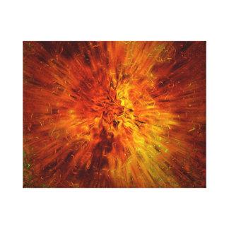big bang stretched canvas prints
