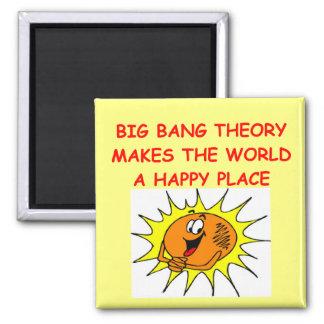 big bang theory square magnet