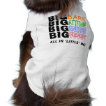 BIG BARK BIG HEART SLEEVELESS DOG SHIRT