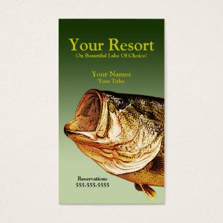 Big Bass Business Card