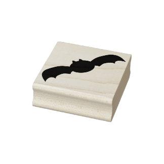 Big bat silhouette art stamp
