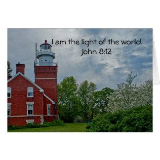 Big Bay Lighthouse Card