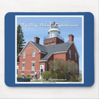 Big Bay Point Lighthouse Mousepad Mouse Pad
