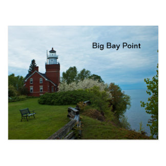 Big Bay Point Lighthouse Postcard