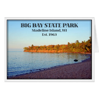 Big Bay State Park - Customized Card