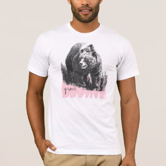 big bear and the pink wave T-Shirt
