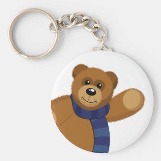 Big Bear Button Keychain
