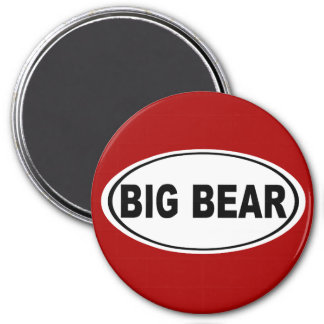 Big Bear California Magnet