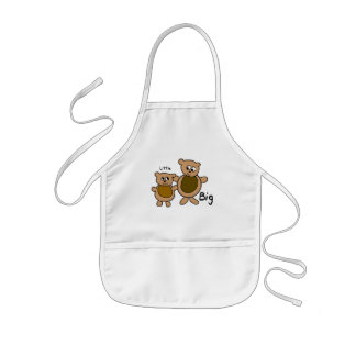Big Bear Little Bear Kids' Apron