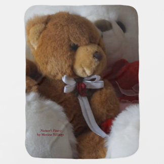 Big Bear, Little Bears Receiving Blankets