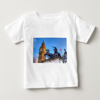Big Ben and Boadicea Statue Baby T-Shirt