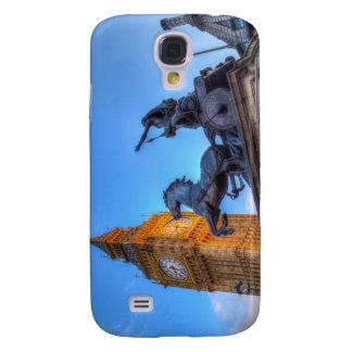 Big Ben and Boadicea Statue Galaxy S4 Cases
