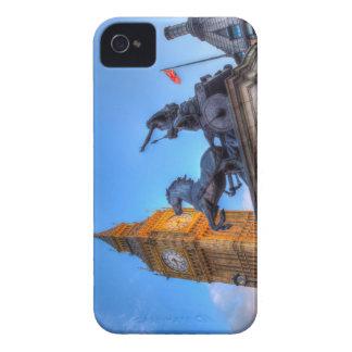 Big Ben and Boadicea Statue iPhone 4 Case-Mate Cases