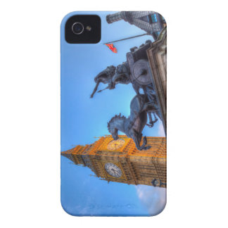 Big Ben and Boadicea Statue iPhone 4 Cases