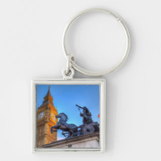 Big Ben and Boadicea Statue Key Ring