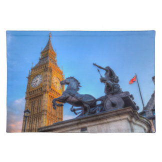 Big Ben and Boadicea Statue Placemat