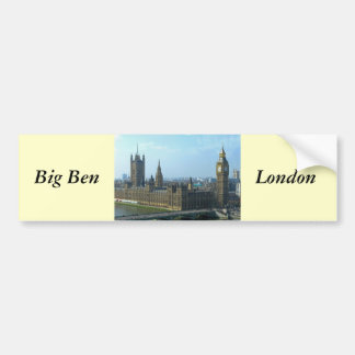 Big Ben and Houses of Parliament - London Bumper Sticker