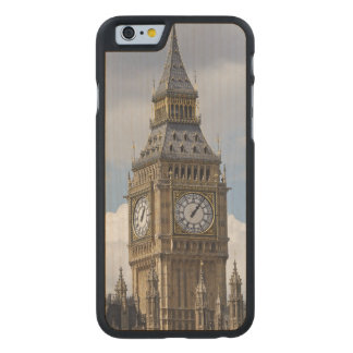Big Ben and Houses of Parliament, London, Carved Maple iPhone 6 Case