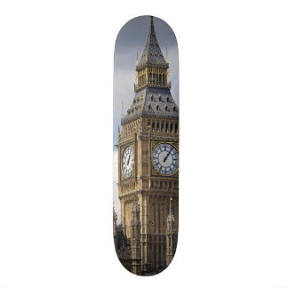 Big Ben and Houses of Parliament, London, Custom Skate Board