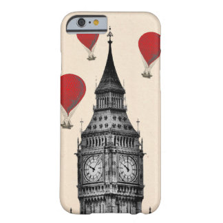 Big Ben and Red Hot Air Balloons 2 Barely There iPhone 6 Case