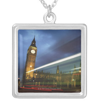 Big Ben and the Houses of Parliament Silver Plated Necklace