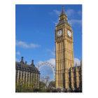 Big Ben and the London Eye Postcard