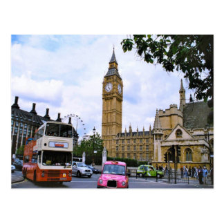 Big Ben and the Palace of Westminster Postcard
