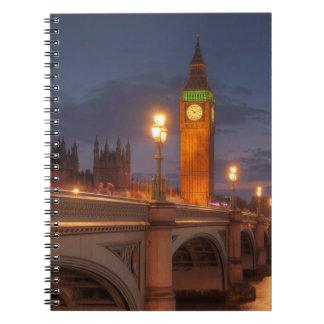 Big Ben and the Westminster Bridge Notebooks