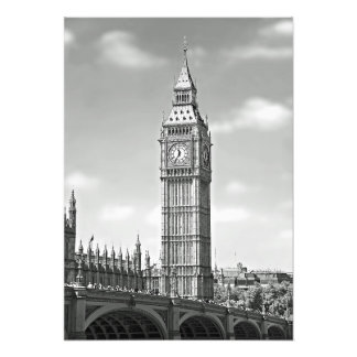Big Ben and the Westminster Bridge Photo Print