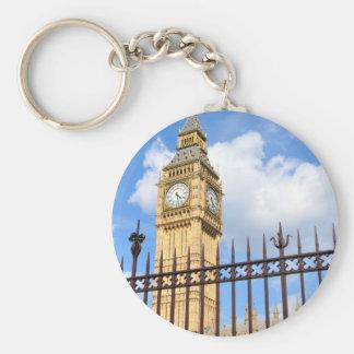 Big Ben Basic Round Button Key Ring