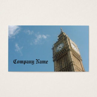 Big Ben Business Card