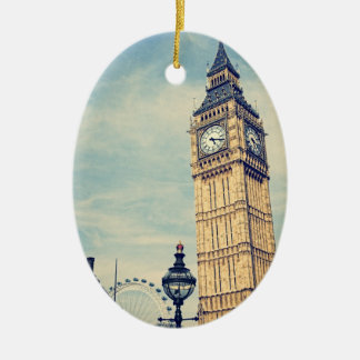 Big Ben Ceramic Ornament