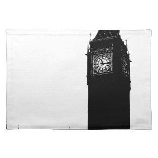 big ben clock placemat