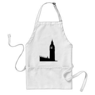 big ben clock standard apron