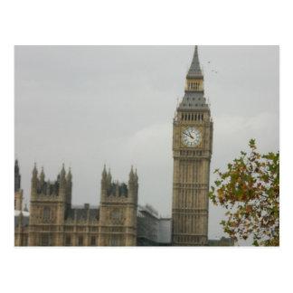 Big Ben House of Commons Postcard