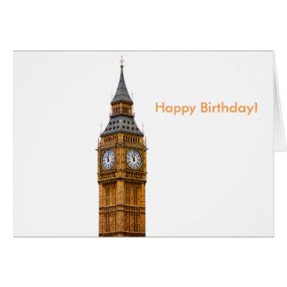 Big Ben image for Birthday greeting card