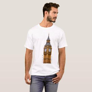 Big Ben image for Men's Basic T-Shirt, White T-Shirt