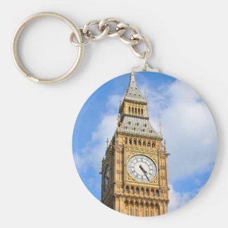 Big Ben in London, UK Basic Round Button Key Ring